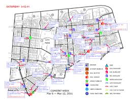 nopd 3rd district crime map march 12 2016
