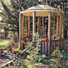outdoors charming gazebo structures for the garden