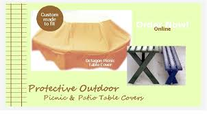 custom made patio furniture covers. our protective patio furniture covers are custom made in waterproof 100 heavy vinyl or canvas material they available octagon hexagon e