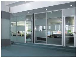 glass and aluminium patio door