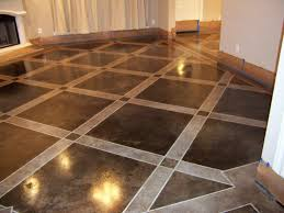 What a great idea... this floor is a concrete slab.