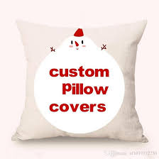 custom pillow covers. Unique Covers Custom Pillow Covers Purchased In Bulk New Linen Cotton Sofa Cases  Any Size Just Offer Design 3 4days Delivery Car Waist Pillowcase Outdoor Cushion  On
