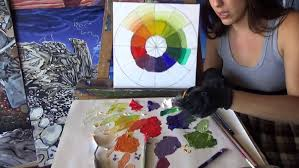 most trained painters have made at least one color wheel you may have even created one in your middle school art class