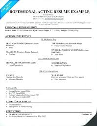 Musical Theater Resume Template Inspiration Musical Theater Resume Template Word Theatre Resumes Best Ideas Of