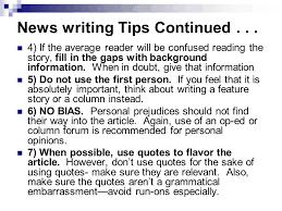 A Newspaper Article How To Write A Newspaper How To Write A Newspaper Article The