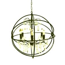chandelier black wrought iron vineyard orb 4 light chandelier black wrought iron orb chandelier black wrought