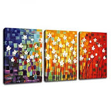 artewoods wall art canvas painting pictures prints colorful flowers abstract paintings framed contemporary abstract painting giclee on colorful wall art canvas with artewoods wall art canvas painting pictures prints colorful flowers