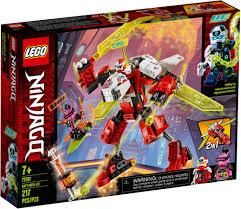 Lego Ninjago 71707 Kai's Mech Jet | Lego ninjago, Lego kai, Ninjago lego  sets