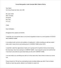 15 Resignation Letter 2 Week Notice Pdf Paystub Format