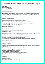 Delivery Driver Resume Simple But Serious Mistake In Making CDL Driver Resume 80