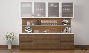 Small Crockery Unit Designs Romana Crockery Unit Crockery Cabinet Home Bar Rooms