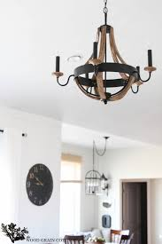 wooden chandelier lighting. Living Room Wood Chandelier By The Grain Cottage Wooden Lighting E