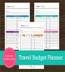 vacation budget template 10 travel budget templates free sample example format