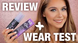 <b>Urban Decay All</b> Nighter Setting Spray Review + Wear Test - YouTube