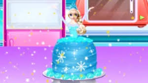 How To Make A Frozen Princess Cake Free Girl Games Online