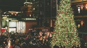 Christmas In San Francisco Stock Photos U0026 Christmas In San Christmas Tree In San Francisco