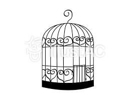 おしゃれな鳥籠イラスト No 740155無料イラストならイラストac