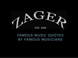 Quotes About Music Interesting Famous Quotes By Famous Musicians
