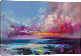Oil Paintings Arran Glow Canvas Art Print Icanvas Abstract Art That Will Change Your Room