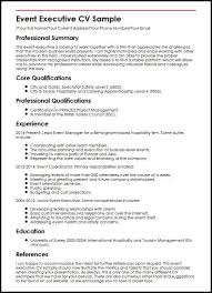Event Manager Resume Samples Events Manager Resume Sample Best Events Manager Resume