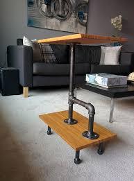 ikea industrial furniture. Rustic Industrial End Table Ikea Furniture H