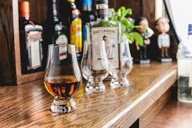 the glencairn glass resembles those used in whiskey labs around the world