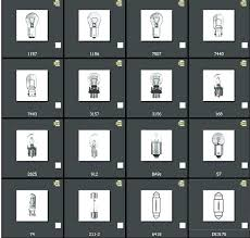Auto Light Bulb Chart Sylvania Automotive Light Bulbs Royagasht Info