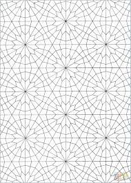Islamic Pattern Coloring Book Lovely Coloring For Grown Ups