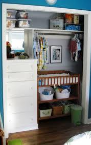 Diy Baby Closet Organization Ideas Nursery Closet Organization