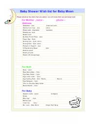 9 Baby Shower Checklist Samples Sample Templates Kes Faucet And Shower