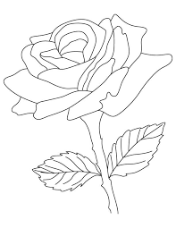 coloring books ornamental rose coloring page
