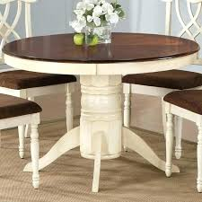 42 inch round pedestal table simple liberty furniture low country sand dining white with leaf