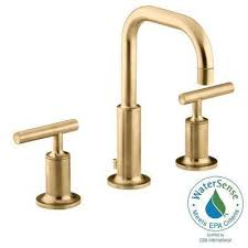 brushed brass bathroom faucet. Awesome Brushed Brass Bathroom Faucets With Gold Bath The Home Depot Faucet