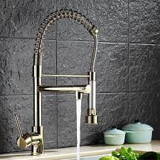 gold kitchen faucet. 2018 Top Quality Three Way Kitchen Faucet With Polished Gold Sink Of Solid Brass Golden From Hymen, $252.16 | Dhgate.Com