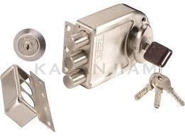 door bolt locks. Plain Door Door Lock 7123 NS 3 Dead Bolt Highest Security Axis Smart Key Europa For Locks R