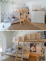 designing girls bedroom furniture fractal. Boys Room ~ This Gender Neutral Kids Features Bright White Walls,  Scandinavian Inspired Decor And Custom Made Wooden Beds. Designing Girls Bedroom Furniture Fractal