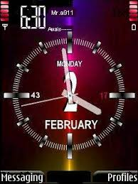 free animated clock wallpapers for mobile. Animated Clock Mobile Theme Intended Free Wallpapers For