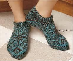 <b>Короткие носки жаккардовым</b> узором (с изображениями ...