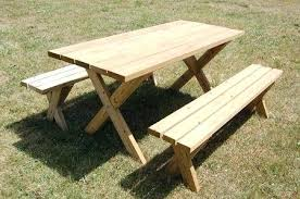 wood picnic table plans picture of a picnic table on grass childrens wood picnic table plans