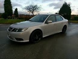 2008 facelift Saab 9-3 tid 150 remapped turbo diesel 190bhp vxr 19 ...