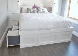 diy storage bed projects the budget