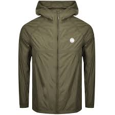 image for pretty green lightweight hooded jacket khaki