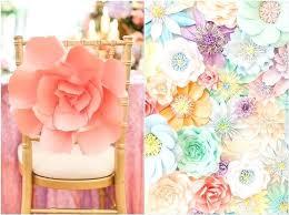 Paper Flower Centerpieces At Wedding Paper Flower Centerpiece