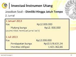 Jun 02, 2021 · contoh soal akm 2 obligasi. Investasi Bonds Akuntansi Keuangan Menengah 2 Pertemuan 3
