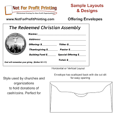Sample Gift Card Envelope Template Sample Layouts Designs For Donation Envelopes And Remittance Envelopes 11