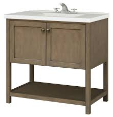 vanity cabinet only. Perfect Vanity Sunny Wood AN3621 Taupe Aiden 36 On Vanity Cabinet Only I