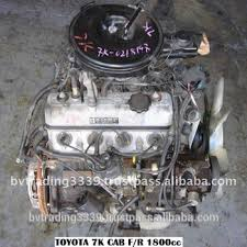 Toy 7k Fr At Efi Jdm Engine Diesel From Japan - Buy Toyota Liteace ...