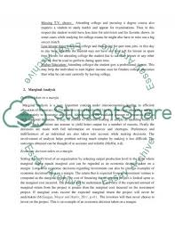opportunity cost of going to college marginal analysis essay opportunity cost of going to college marginal analysis essay example