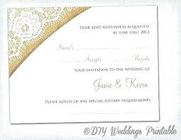 response cards template wedding card sample text free printable wedding card templates