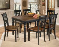 ashley signature design owingsville 7 piece rectangular dining table set item number d580